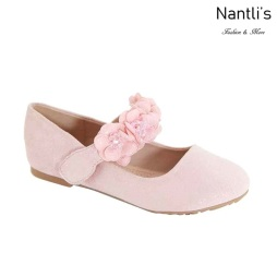 AN-Shani-45k Pink Zapatos de nina Mayoreo Wholesale girls Shoes Nantlis