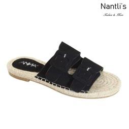 AN-Silvie Black Zapatos de Mujer Mayoreo Wholesale Women Shoes Nantlis