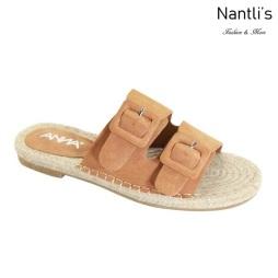 AN-Silvie Tan Zapatos de Mujer Mayoreo Wholesale Women Shoes Nantlis