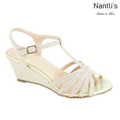 AN-Soho-21 Gold Zapatos de Mujer Mayoreo Wholesale Women Shoes Nantlis