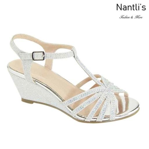 AN-Soho-21 Silver Zapatos de Mujer Mayoreo Wholesale Women Shoes Nantlis
