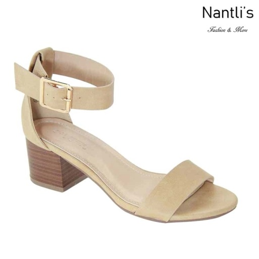 AN-Starlet-5 Beige Zapatos de Mujer Mayoreo Wholesale Women Shoes Nantlis