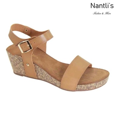 AN-Suzie Camel Zapatos de Mujer Mayoreo Wholesale Women Shoes Nantlis