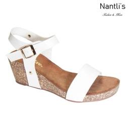 AN-Suzie White Zapatos de Mujer Mayoreo Wholesale Women Shoes Nantlis