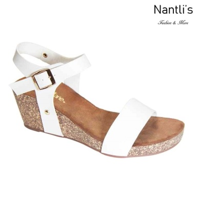 AN-Suzie White Zapatos de Mujer Mayoreo Wholesale Women Shoes Nantlis