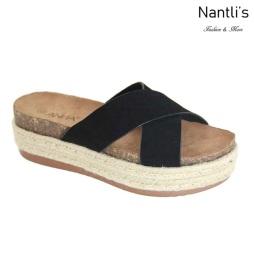 AN-Tegan Black Zapatos de Mujer Mayoreo Wholesale Women Shoes Nantlis