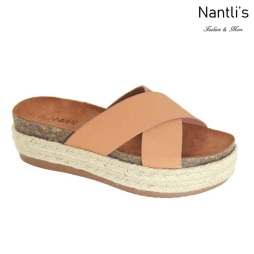 AN-Tegan Tan Zapatos de Mujer Mayoreo Wholesale Women Shoes Nantlis