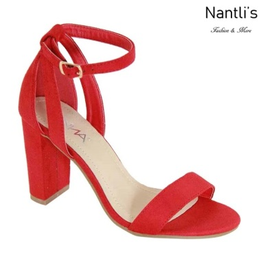 AN-Trask-5 Red Zapatos de Mujer Mayoreo Wholesale Women Shoes Nantlis