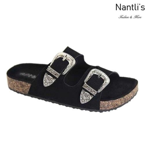 AN-Tucson Black Zapatos de Mujer Mayoreo Wholesale Women Shoes Nantlis