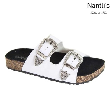 AN-Tucson White Zapatos de Mujer Mayoreo Wholesale Women Shoes Nantlis