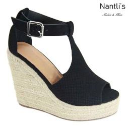 AN-Tulsa Black Zapatos de Mujer Mayoreo Wholesale Women Shoes Nantlis