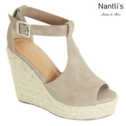 AN-Tulsa Taupe Zapatos de Mujer Mayoreo Wholesale Women Shoes Nantlis