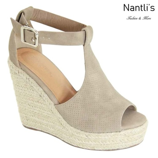 AN-Tulsa Taupe Zapatos de Mujer Mayoreo Wholesale Women Shoes Nantlis