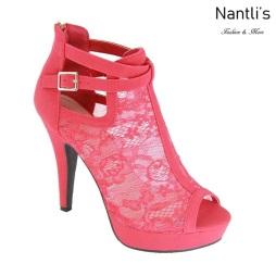 AN-Zahara Red Zapatos de Mujer Mayoreo Wholesale Women Shoes Nantlis