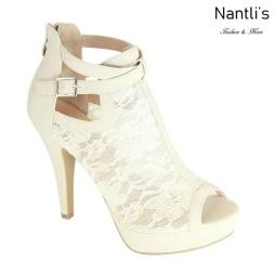 AN-Zahara White Zapatos de Mujer Mayoreo Wholesale Women Shoes Nantlis