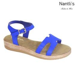 AN-Zelda-5 Royal Blue Zapatos de Mujer Mayoreo Wholesale Women Shoes Nantlis