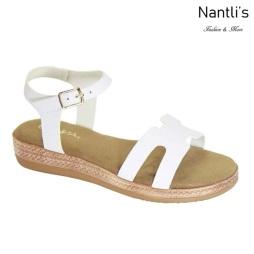 AN-Zelda-5 White Zapatos de Mujer Mayoreo Wholesale Women Shoes Nantlis