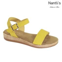 AN-Zelda Mustard Zapatos de Mujer Mayoreo Wholesale Women Shoes Nantlis
