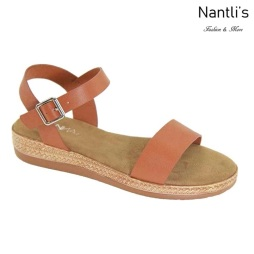 AN-Zelda Tan Zapatos de Mujer Mayoreo Wholesale Women Shoes Nantlis