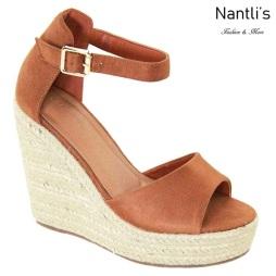 AN-Zhavia Tan Zapatos de Mujer Mayoreo Wholesale Women Shoes Nantlis