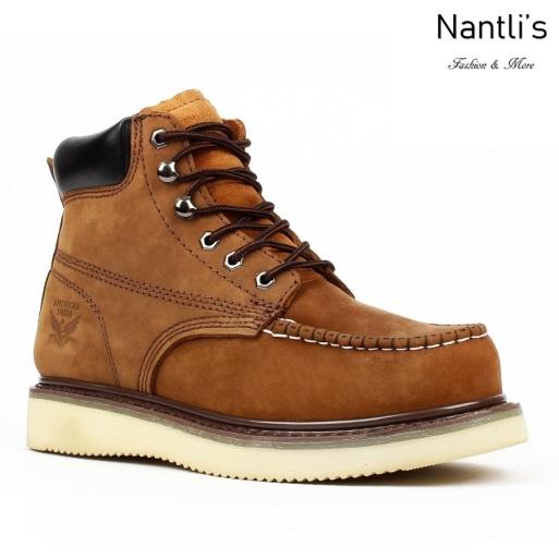 AS-650 Brown Botas de Trabajo Mayoreo Wholesale Work Boots Nantlis