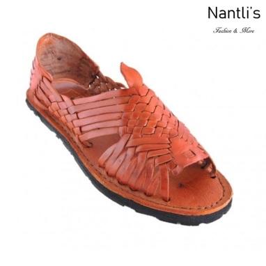 BA-Tradicional Miel Huaraches de hombre Leather Mexican sandals for men Nantlis