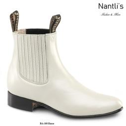 BA100 Hueso Botines Charros Equestrian Paddock Boots Nantlis