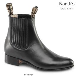 BA100 Negro Botines Charros Equestrian Paddock Boots Nantlis