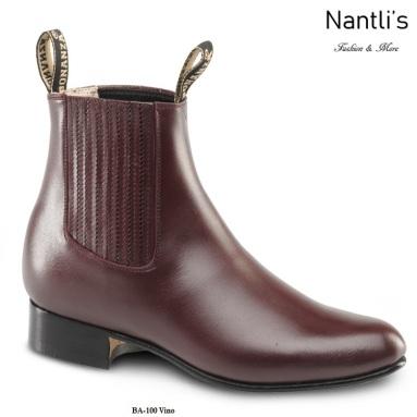 BA100 Vino Botines Charros Equestrian Paddock Boots Nantlis