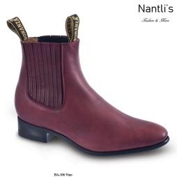 BA106 Vino Botines Charros Equestrian Paddock Boots Nantlis