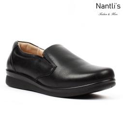 BA-202 black Zapatos de piel Mayoreo Wholesale leather Shoes Nantlis