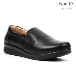BA-202 black Zapatos de piel Mayoreo Wholesale leather Shoes Nantlis
