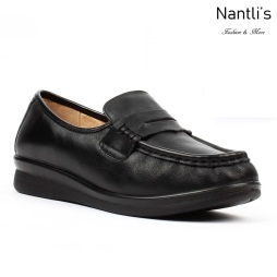 BA-210 black Zapatos de piel Mayoreo Wholesale leather Shoes Nantlis