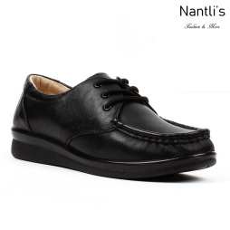 BA-211 black Zapatos de piel Mayoreo Wholesale leather Shoes Nantlis