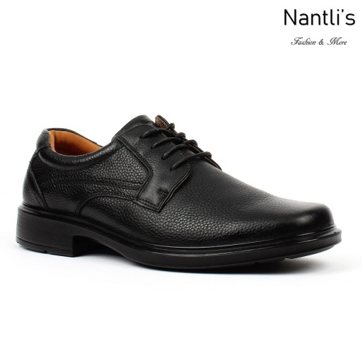 BA-300 black Zapatos de piel Mayoreo Wholesale leather Shoes Nantlis