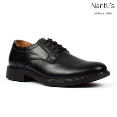 BA-301 black Zapatos de piel Mayoreo Wholesale leather Shoes Nantlis