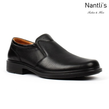 BA-302 black Zapatos de piel Mayoreo Wholesale leather Shoes Nantlis