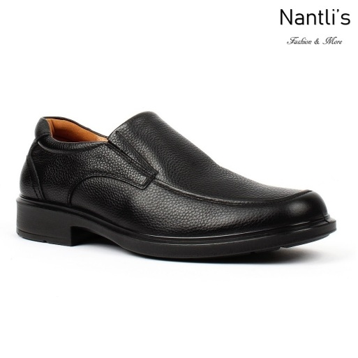BA-310 black Zapatos de piel Mayoreo Wholesale leather Shoes Nantlis