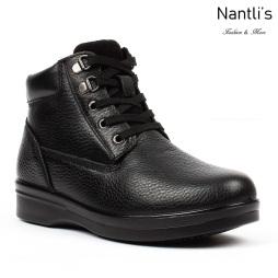 BA-380 black Zapatos de piel Mayoreo Wholesale leather Shoes Nantlis