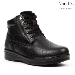 BA-380 black Zapatos de piel Mayoreo Wholesale leather Shoes Nantlis