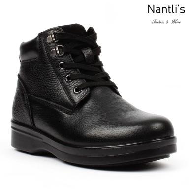 BA-381 black Zapatos de piel Mayoreo Wholesale leather Shoes Nantlis