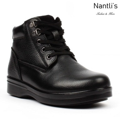 BA-381 black Zapatos de piel Mayoreo Wholesale leather Shoes Nantlis