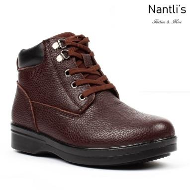 BA-381 brown Zapatos de piel Mayoreo Wholesale leather Shoes Nantlis
