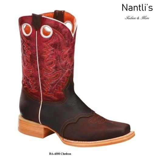 BA4000 Chedron Botas Vaqueras Rodeo Western Boots Nantlis
