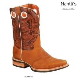 BA4000 Tan Botas Vaqueras Rodeo Western Boots Nantlis