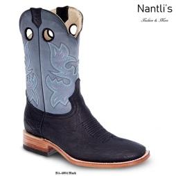 BA4004 Black Botas Vaqueras Rodeo Western Boots Nantlis