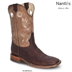BA4004 Brown Botas Vaqueras Rodeo Western Boots Nantlis