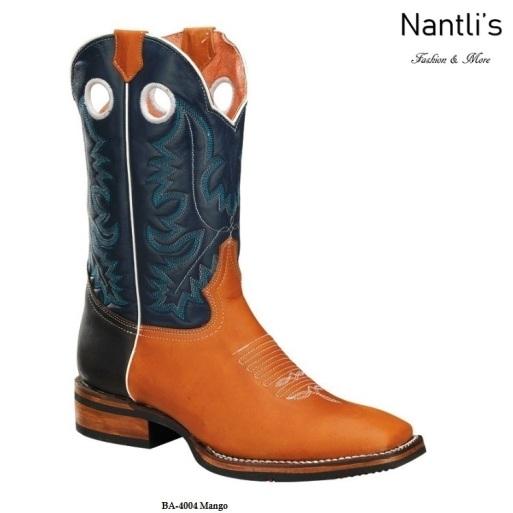 BA4004 Mango Botas Vaqueras Rodeo Western Boots Nantlis