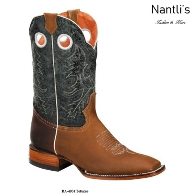 BA4004 Tobacco Botas Vaqueras Rodeo Western Boots Nantlis