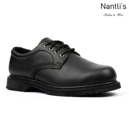 BA-404 black Zapatos de Trabajo Mayoreo Wholesale Work Shoes Nantlis